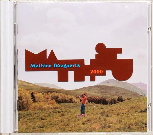 Pochette album 2000 Mathieu Boogaerts