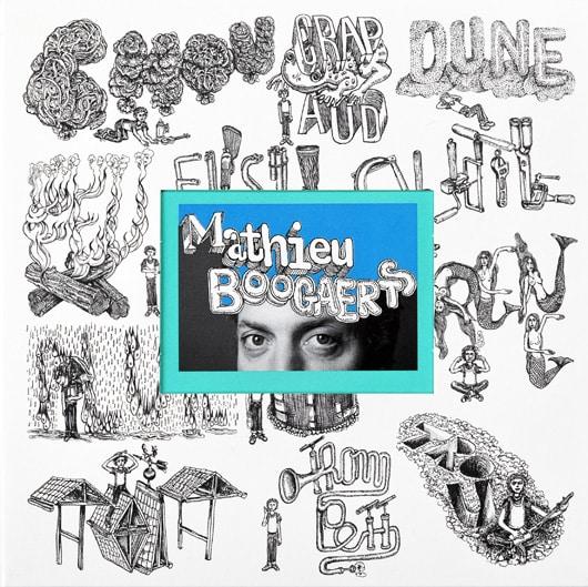 Pochette album Mathieu Boogaerts