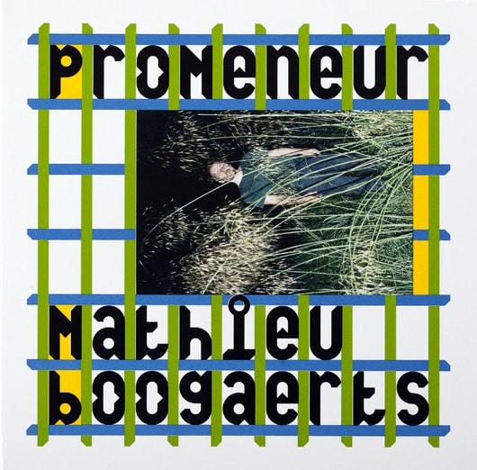 Pochette album Promeneur Mathieu Boogaerts