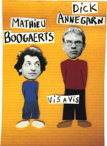 Mathieu Boogaerts en concert (vis à vis Dick Annegarn)