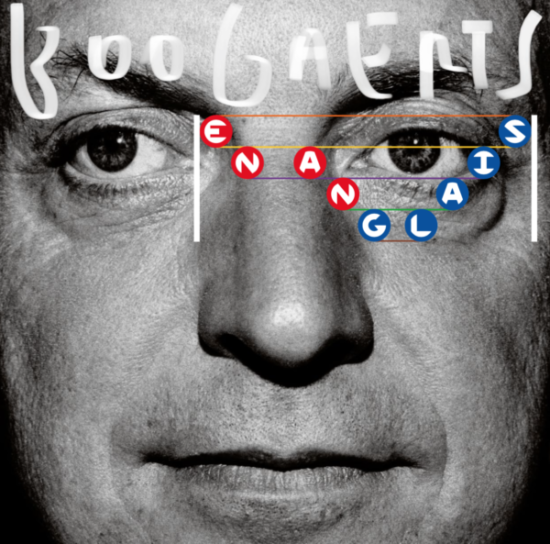 Pochette de l'album (en anglais) de Mathieu Boogaerts